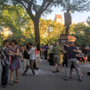 Tango Nights at Washington Square Park @ Garibaldi Plaza  | New York | New York | United States
